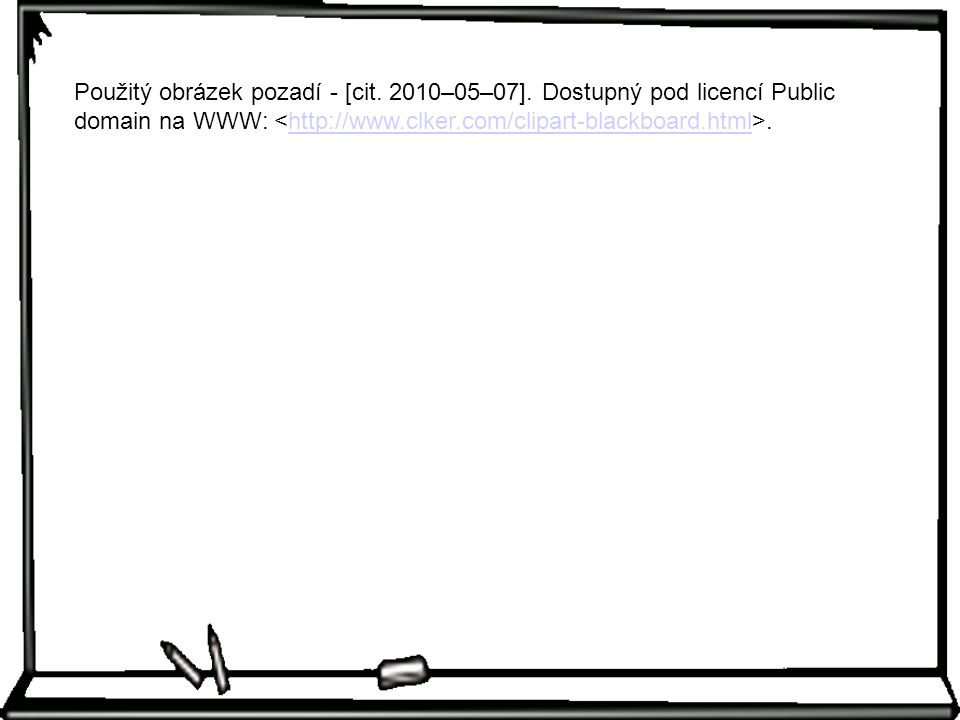 Použitý obrázek pozadí - [cit. 2010–05–07]